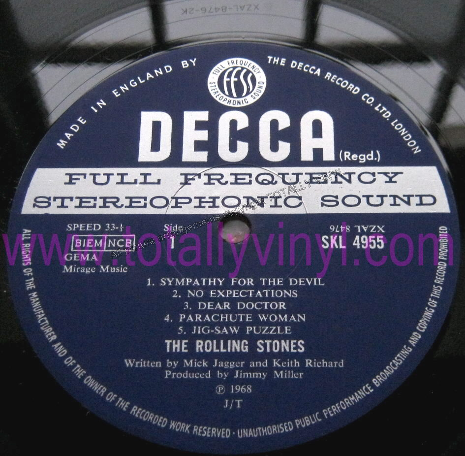 Totally Vinyl Records Rolling Stones The Beggars