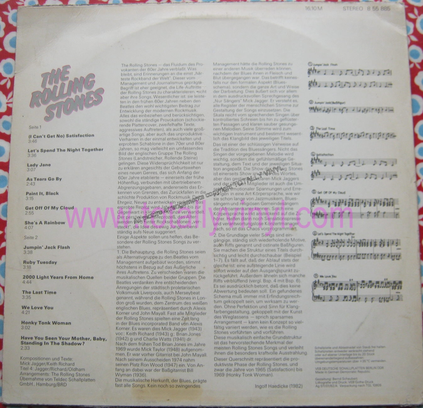 Totally Vinyl Records || Rolling Stones, The - The Rolling