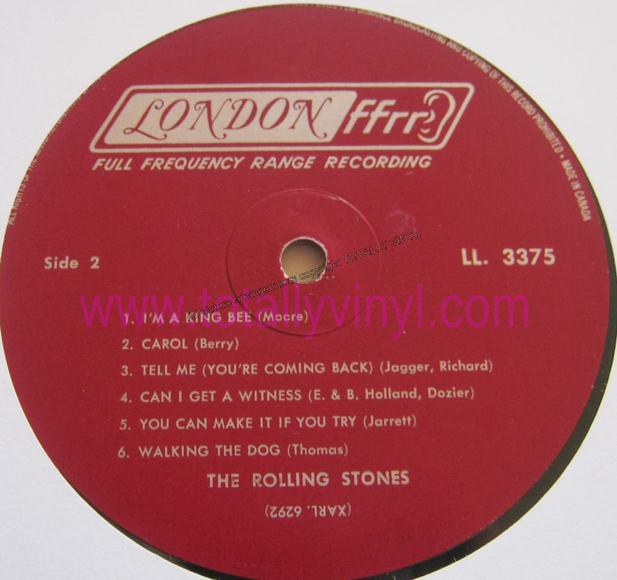 Totally Vinyl Records Rolling Stones The The Rolling