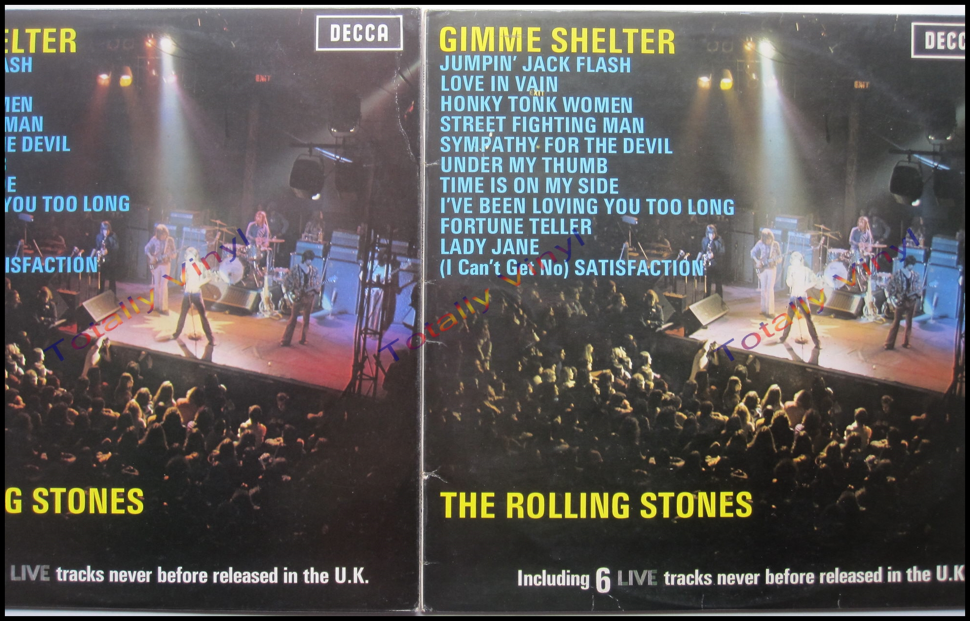 Totally Vinyl Records Rolling Stones The Gimme