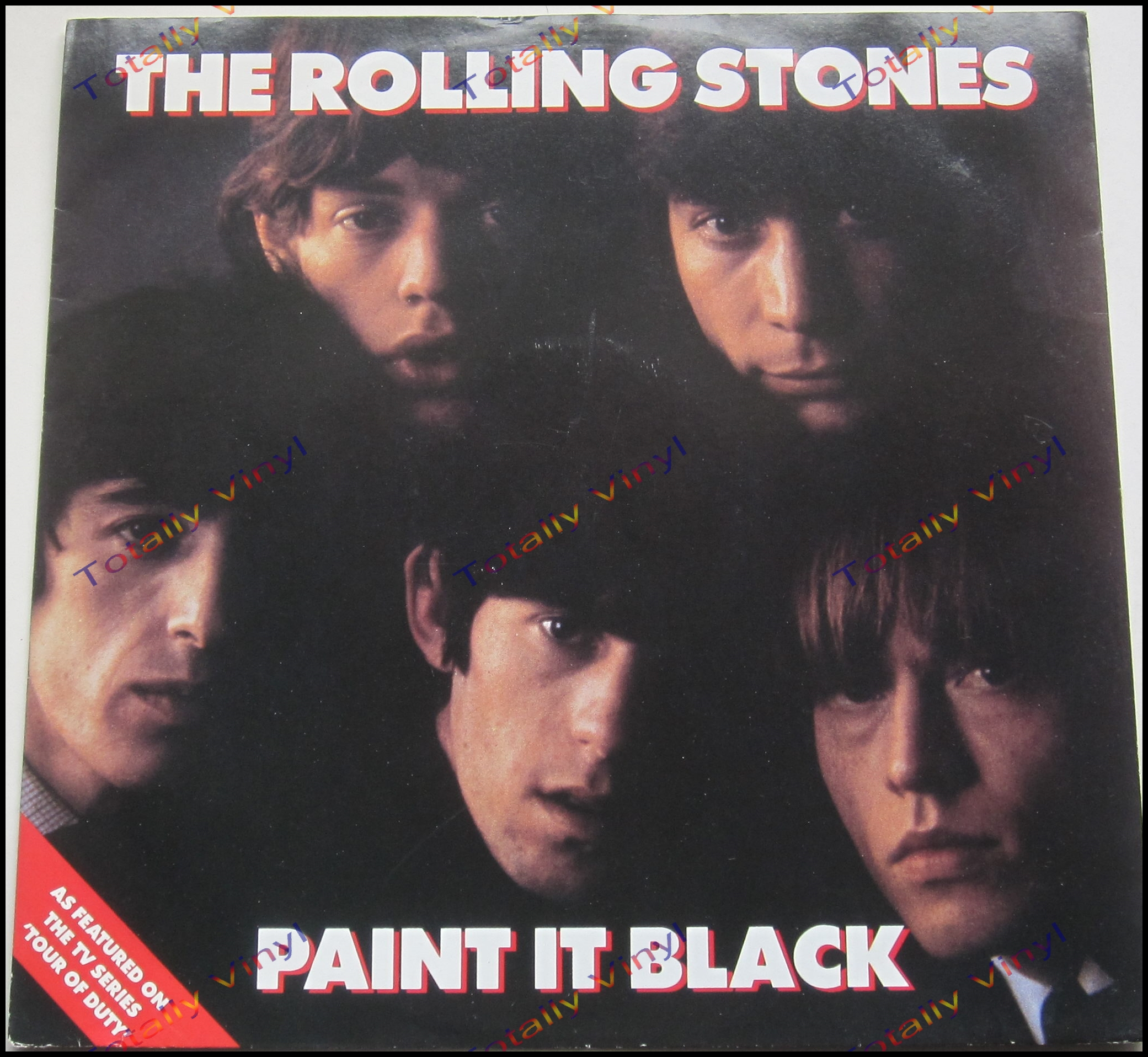Totally vinyl records rolling stones the paint it for The rolling stones paint it black