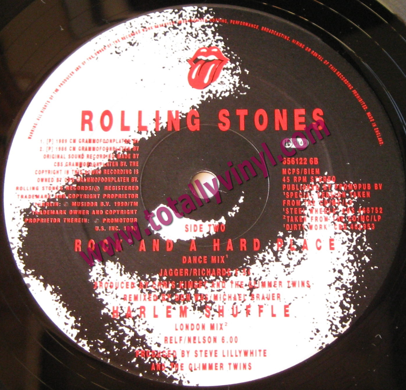 Totally Vinyl Records Rolling Stones The Steel