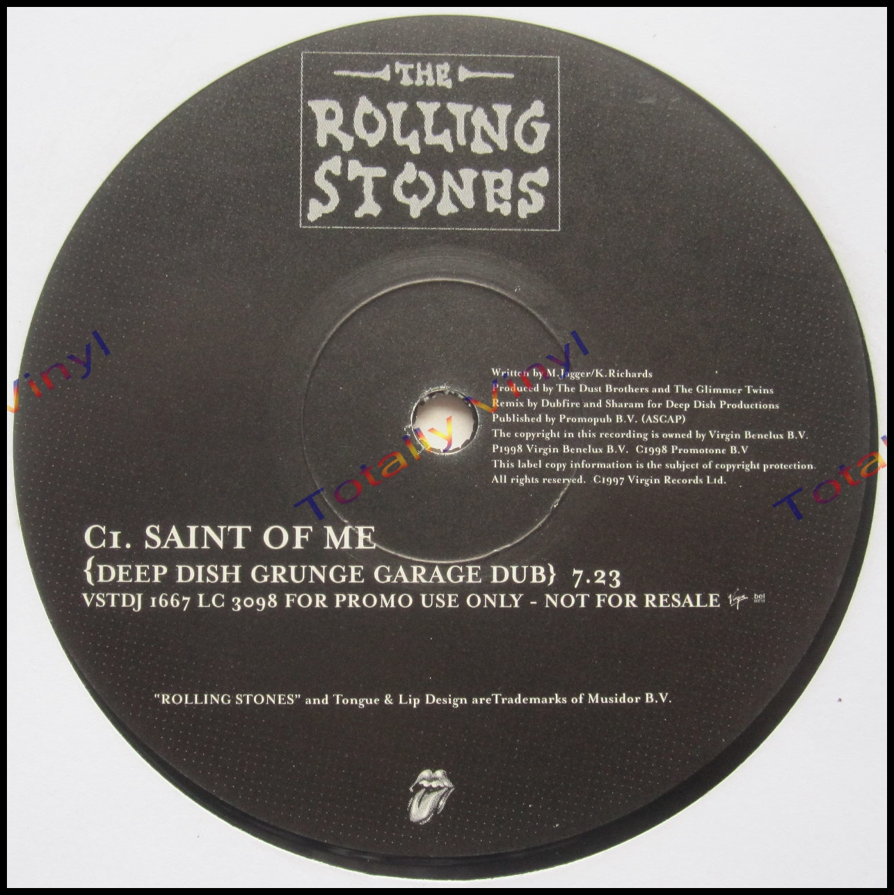 Totally Vinyl Records Rolling Stones The Saint Of Me