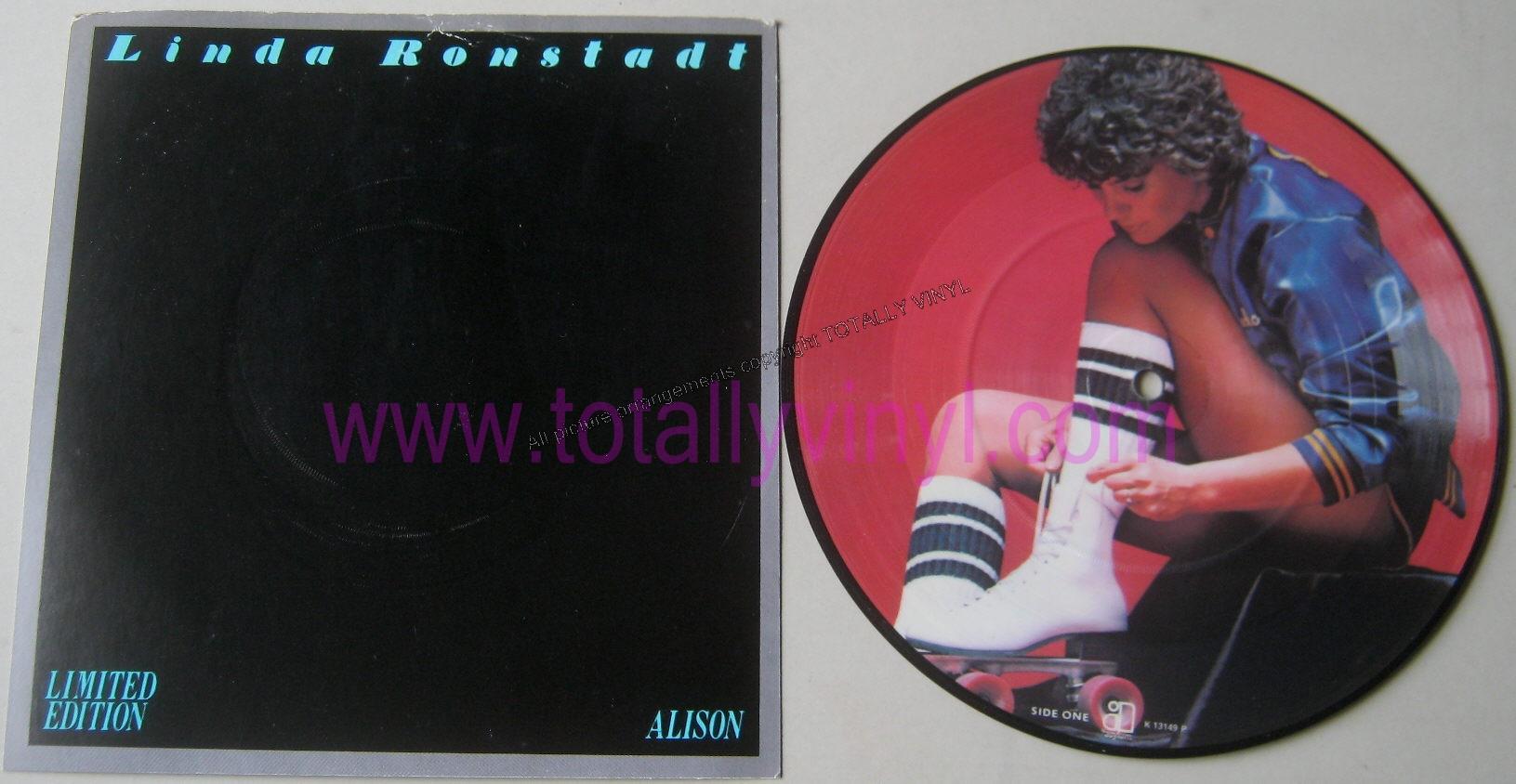 Totally Vinyl Records Ronstadt Linda Alison 7 Inch