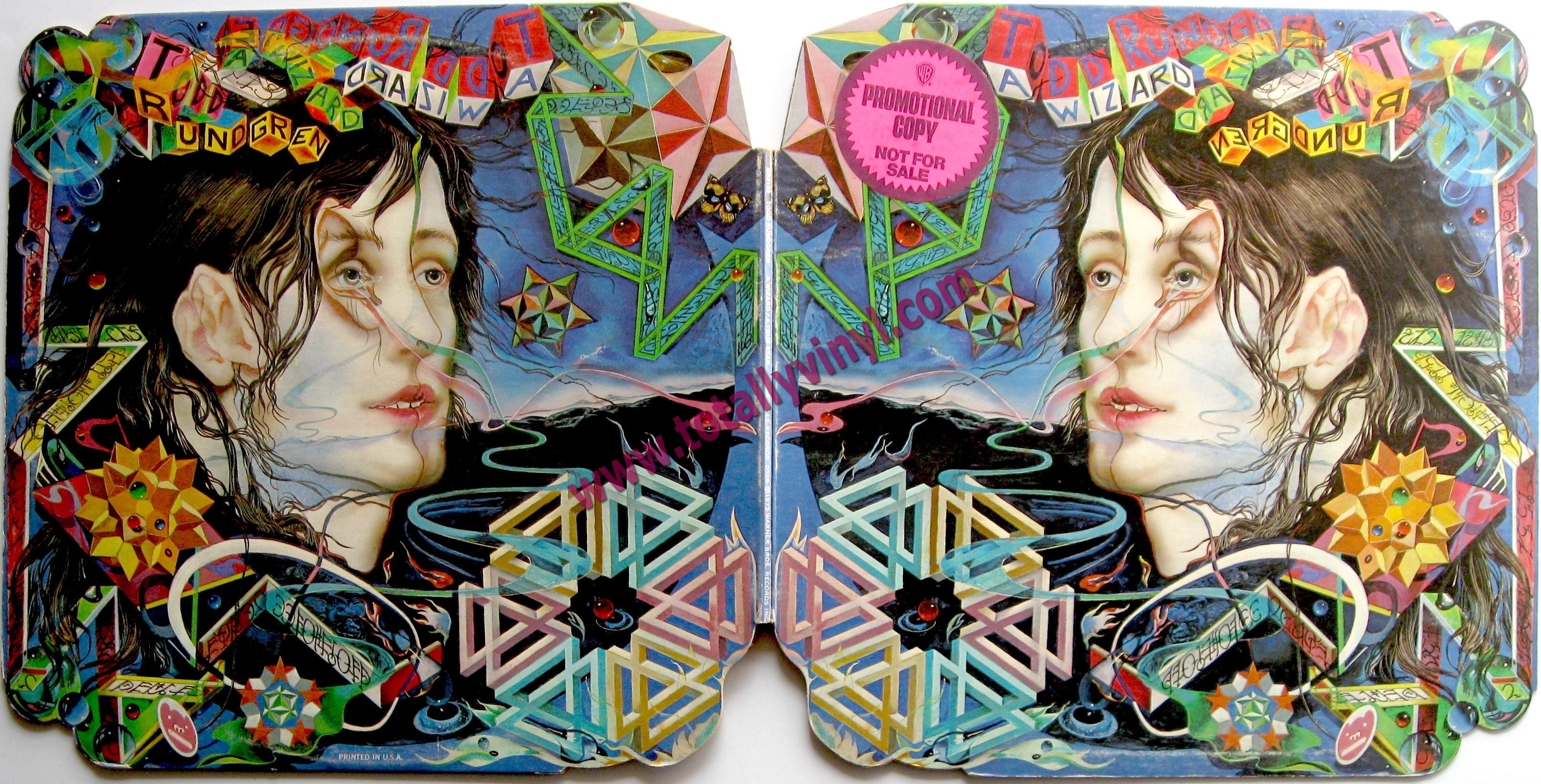 Totally Vinyl Records Rundgren Todd A Wizard A True