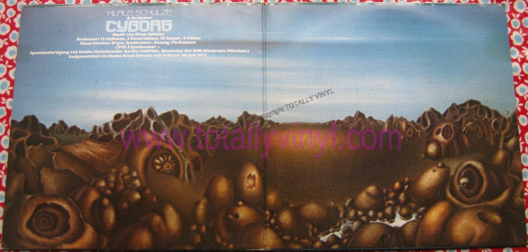 Totally Vinyl Records Schulze Klaus Cyborg Lp