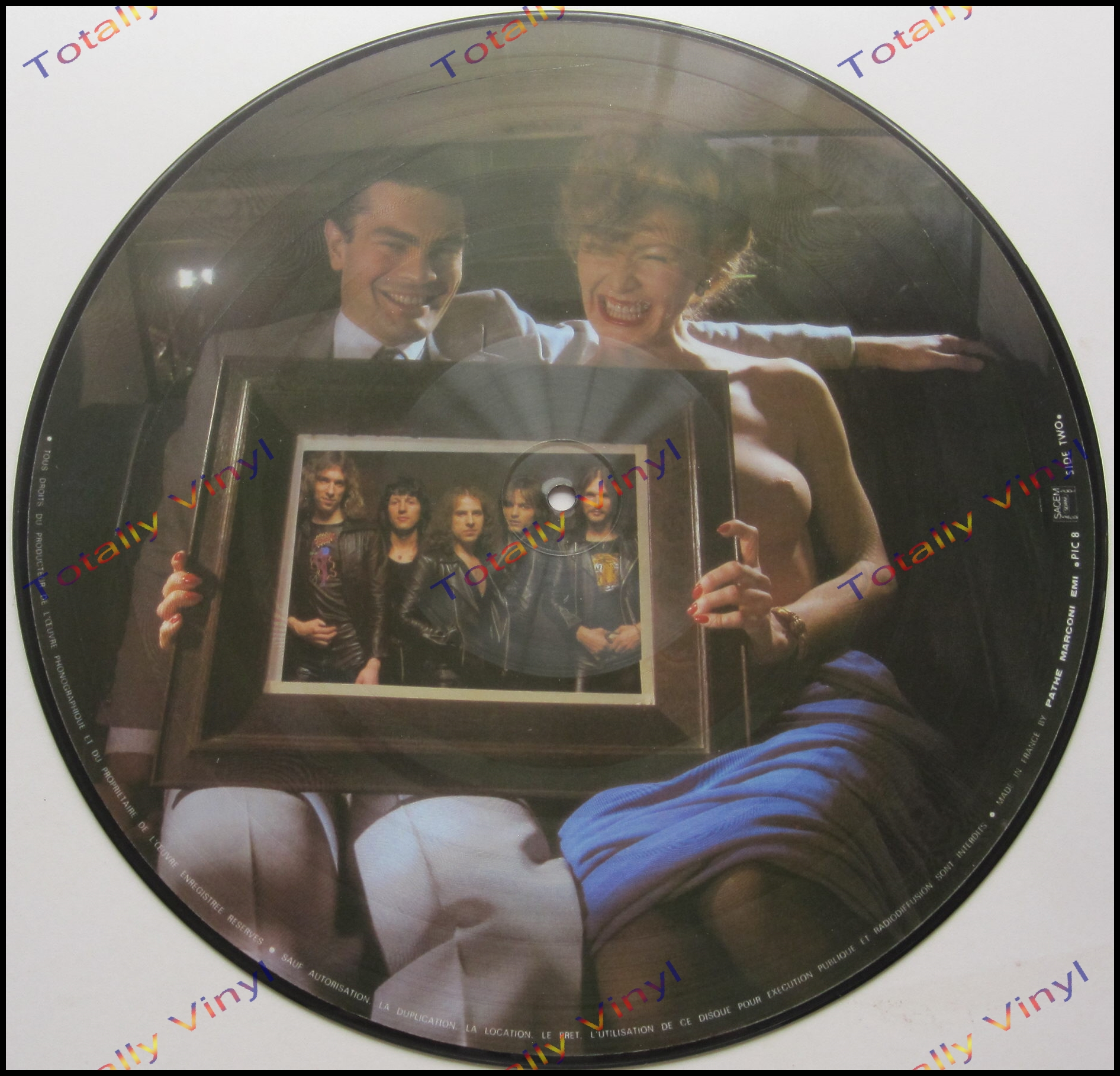 Totally Vinyl Records Scorpions Lovedrive Lp Picture