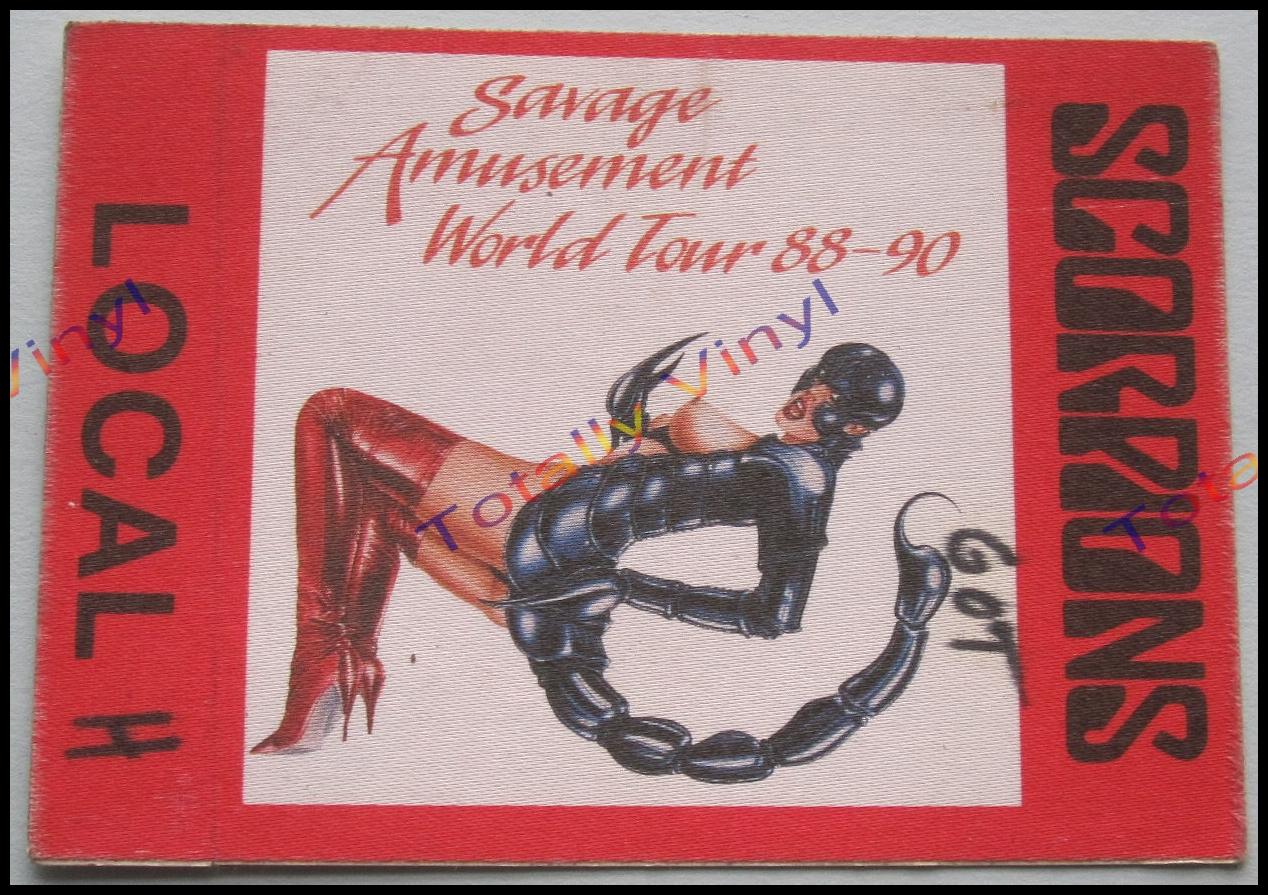 Totally Vinyl Records Scorpions Savage Amusement