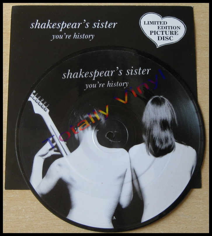 Totally Vinyl Records || Shakespears Sister - You're history