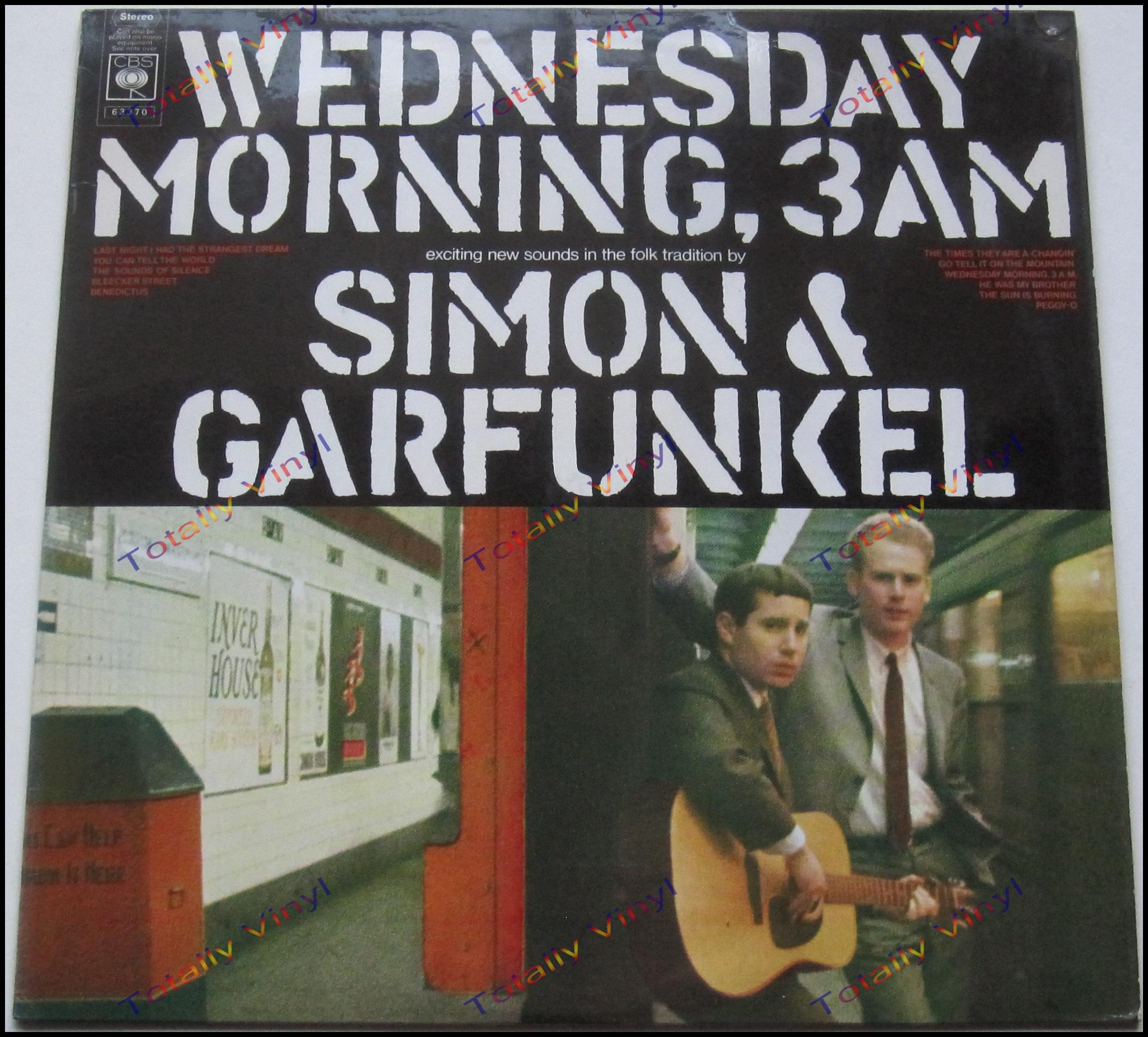 Totally Vinyl Records Simon And Garfunkel Wednesday