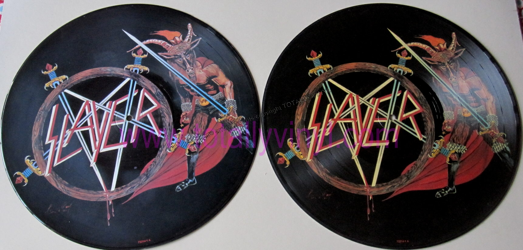 Totally Vinyl Records Slayer Show No Mercy Lp Picture