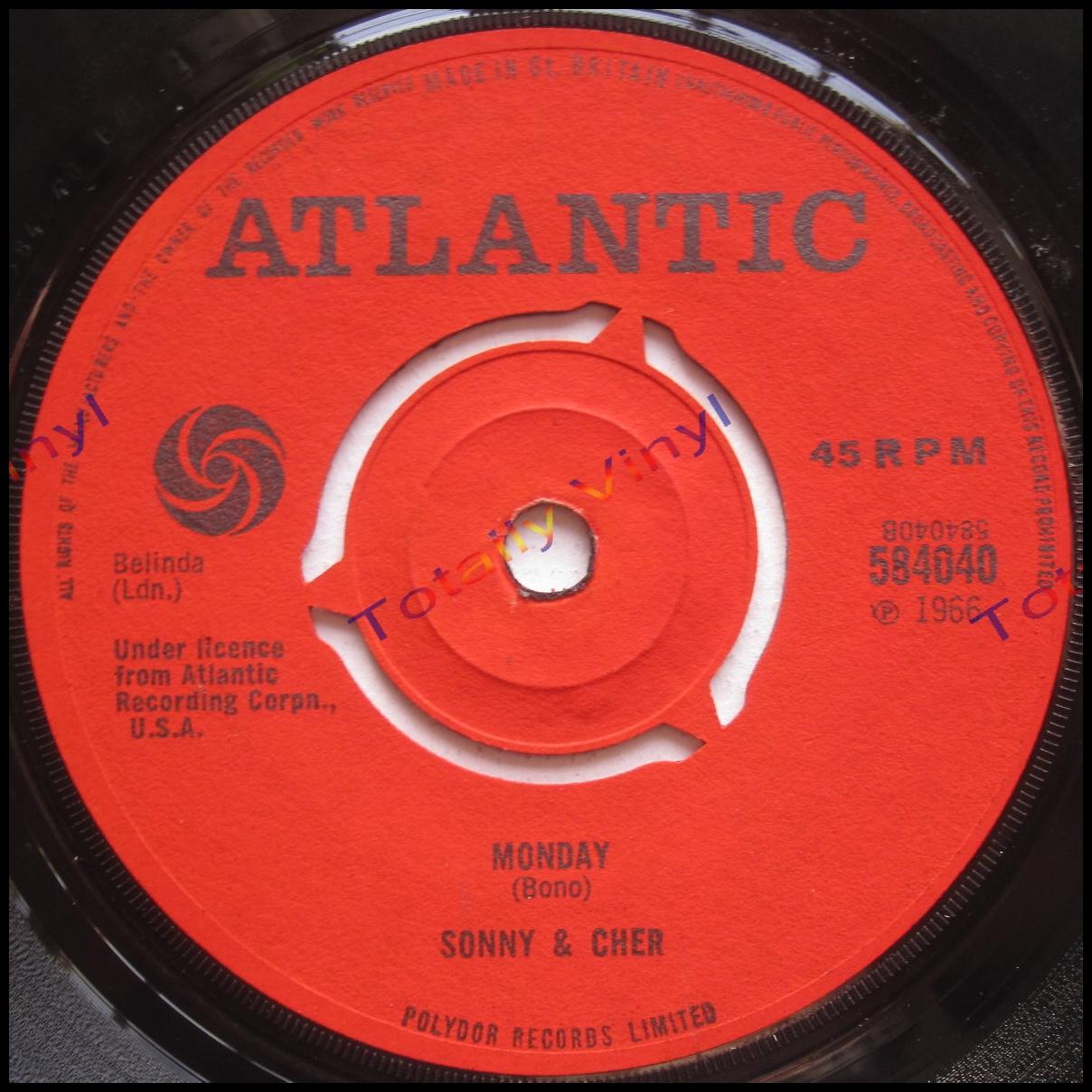 Totally Vinyl Records Sonny And Cher Little Man