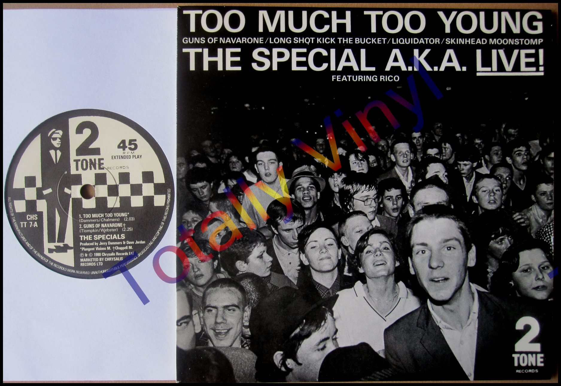 Totally Vinyl Records Special A K A The The Special