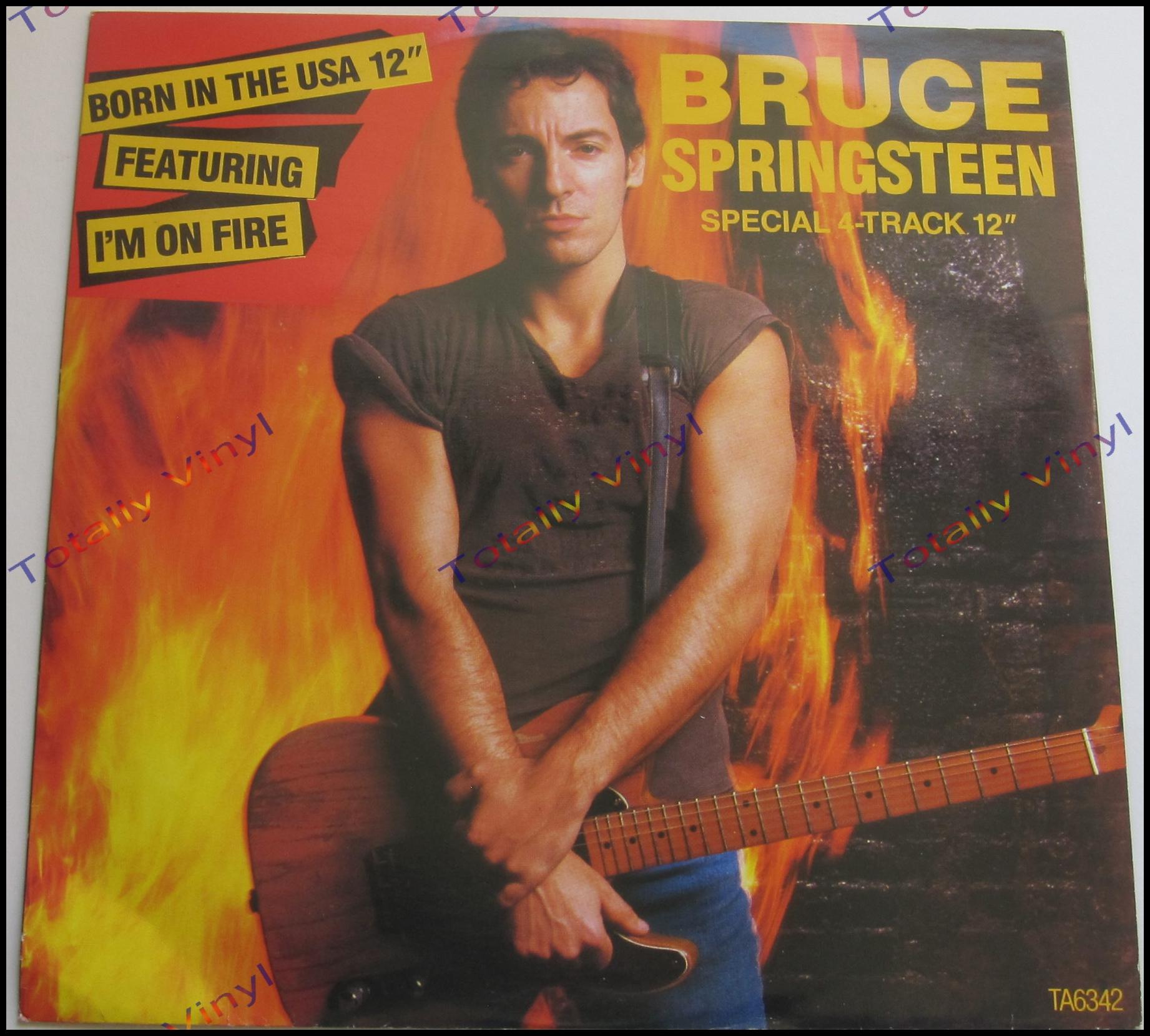 Bruce Springsteen Im On Fire