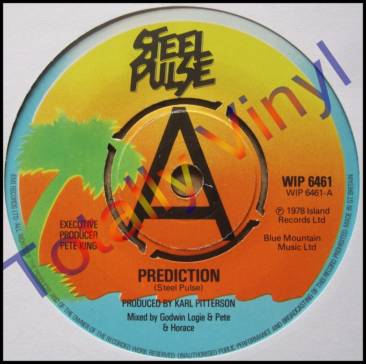 Totally Vinyl Records Steel Pulse Prediction
