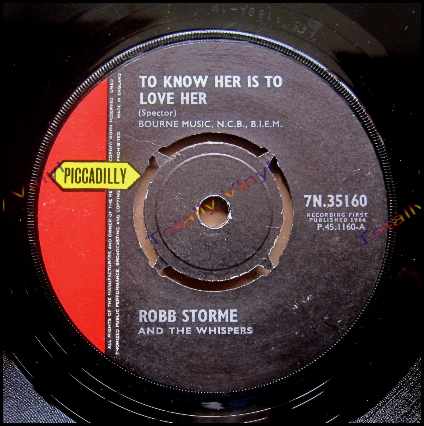 Totally Vinyl Records || Storme and the Whispers, Robb - To