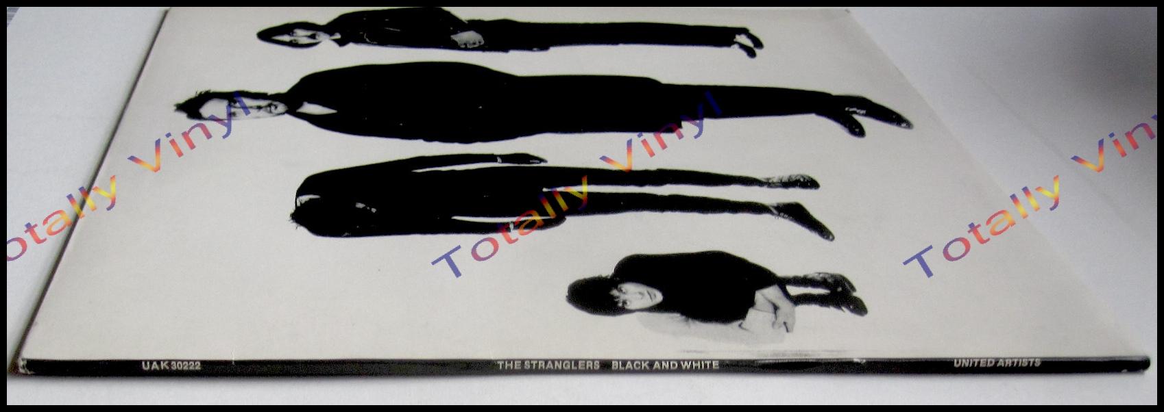 Totally Vinyl Records Stranglers The Black And White