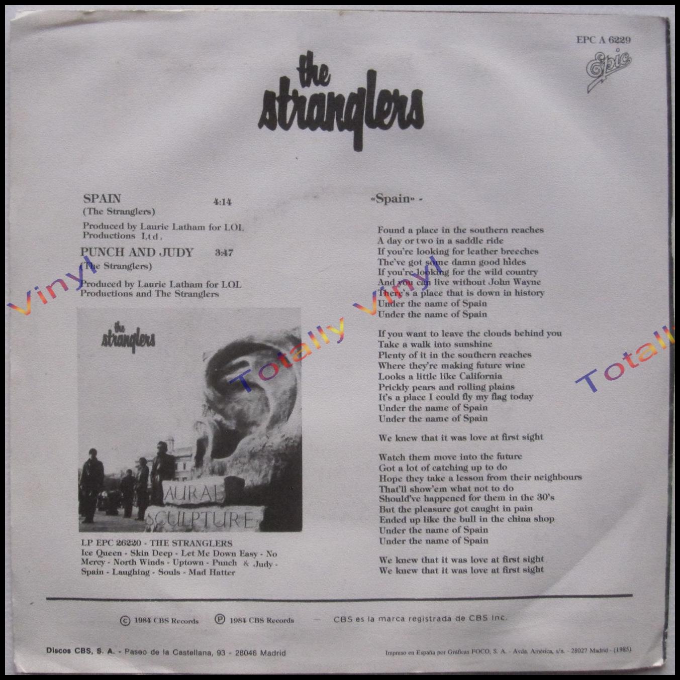 The Stranglers Spain