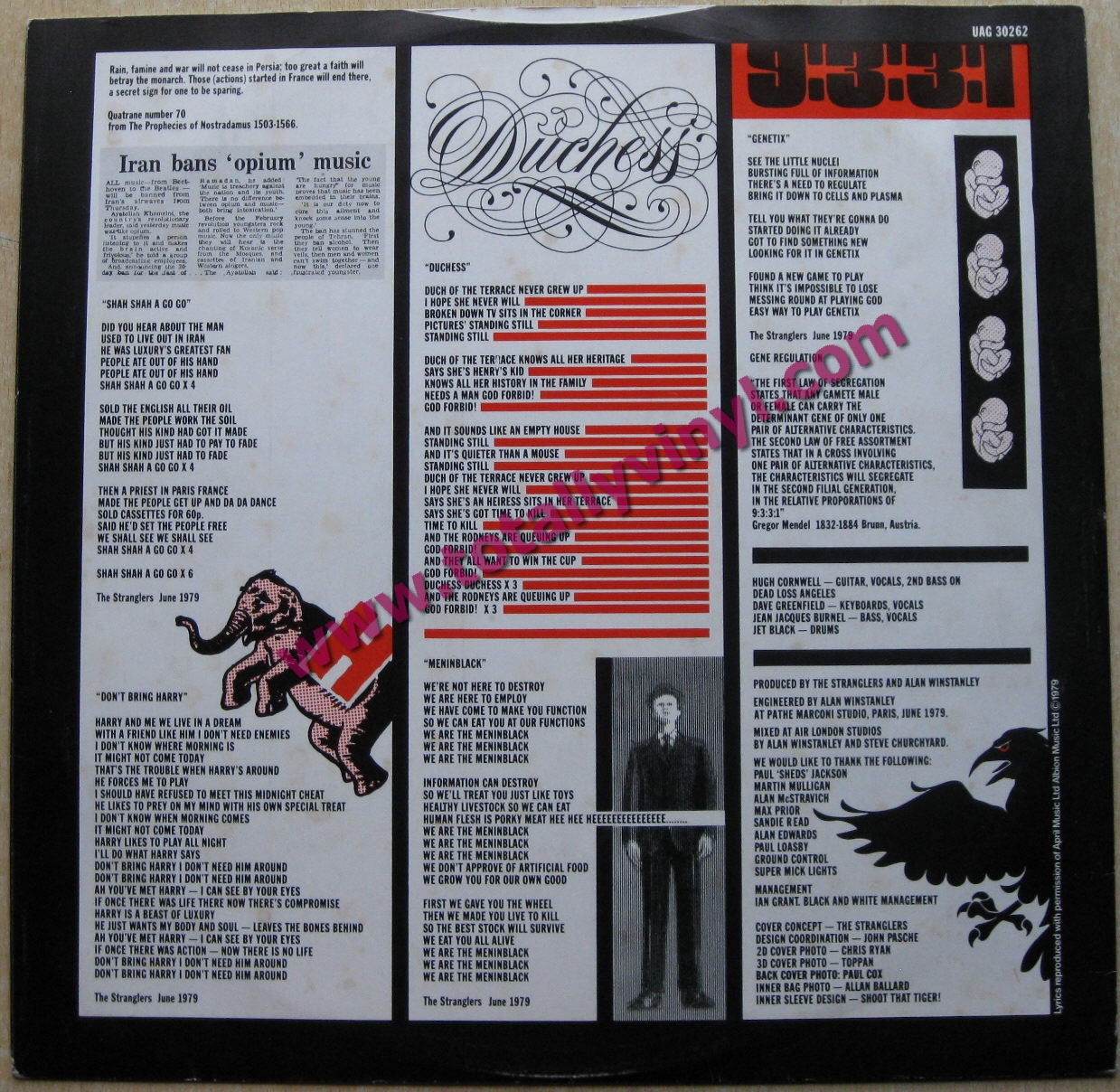 Totally Vinyl Records Stranglers The The Raven Lp