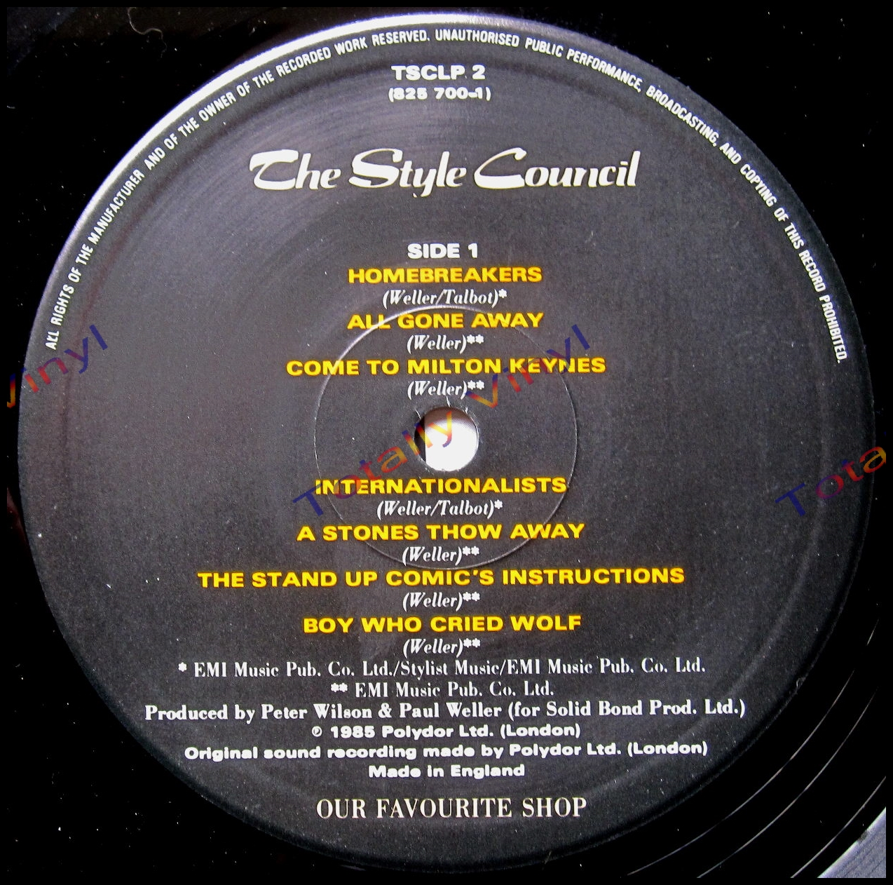 Totally Vinyl Records