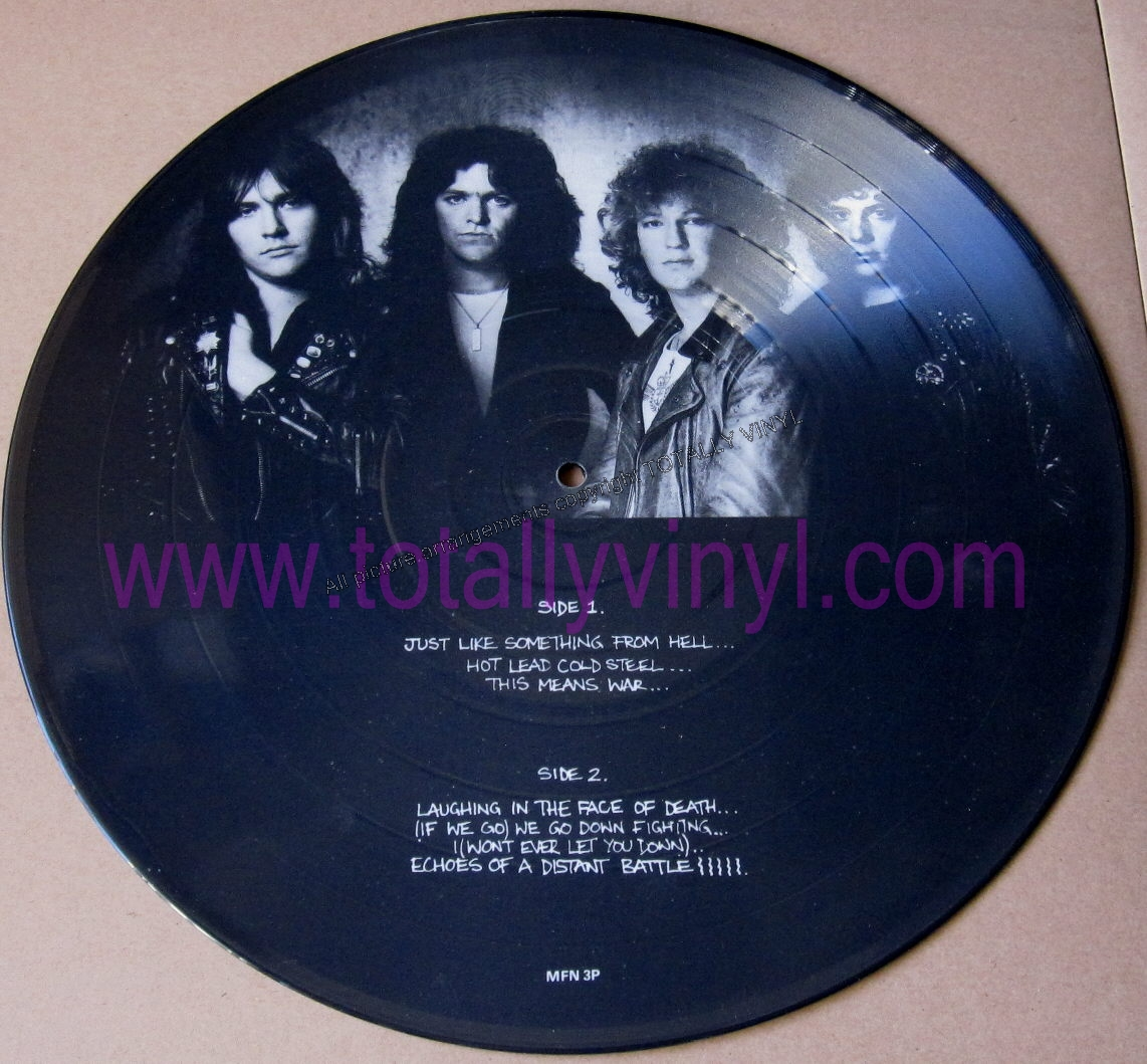 Totally Vinyl Records Tank This Means War Lp Picture