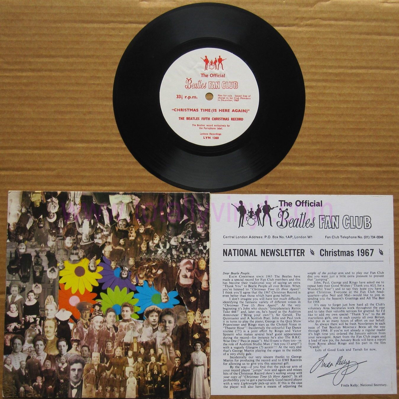 Totally Vinyl Records || Beatles, The - Christmas time (is here ...