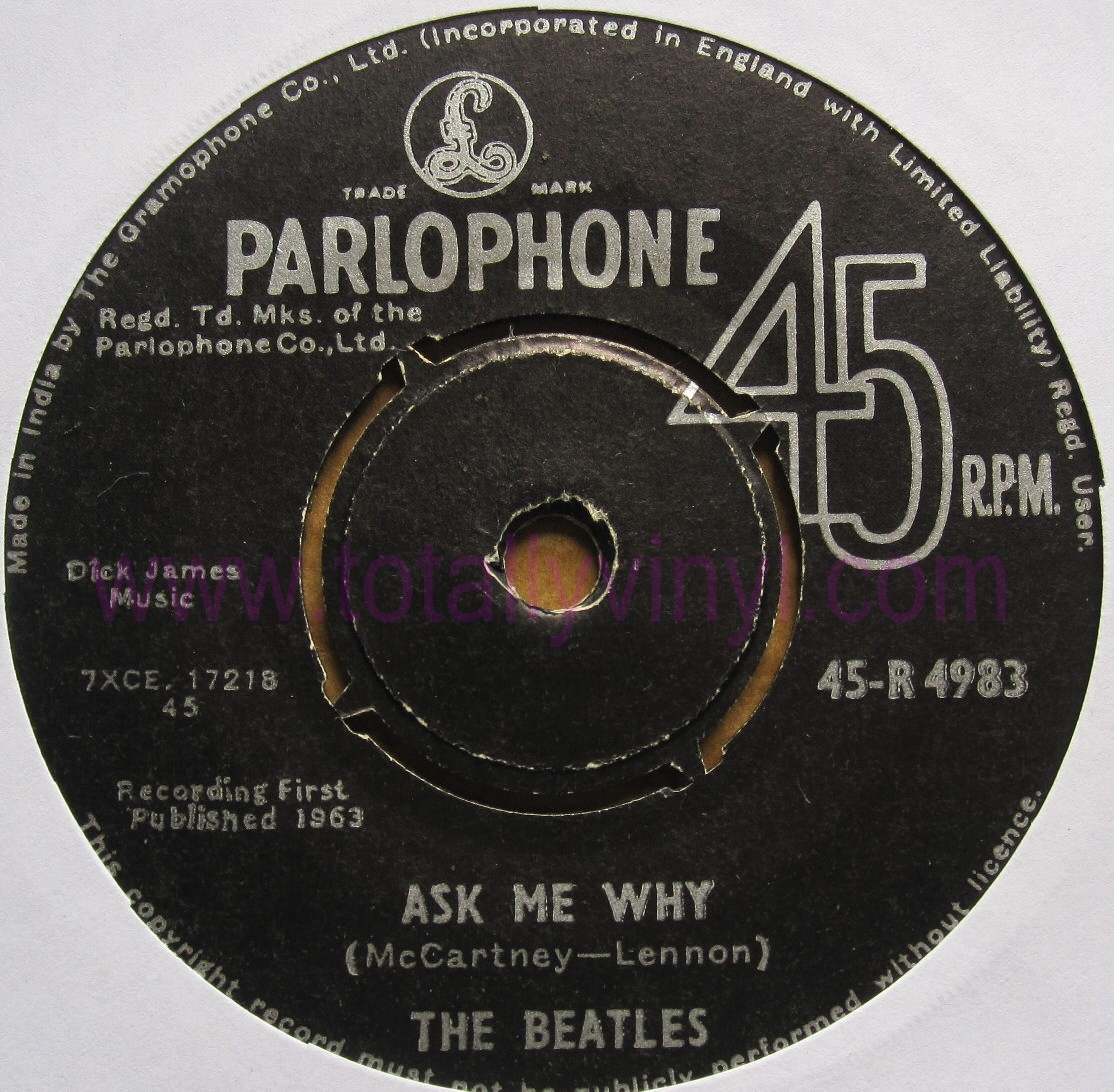 beatles record vinyl values video search engine at. Black Bedroom Furniture Sets. Home Design Ideas