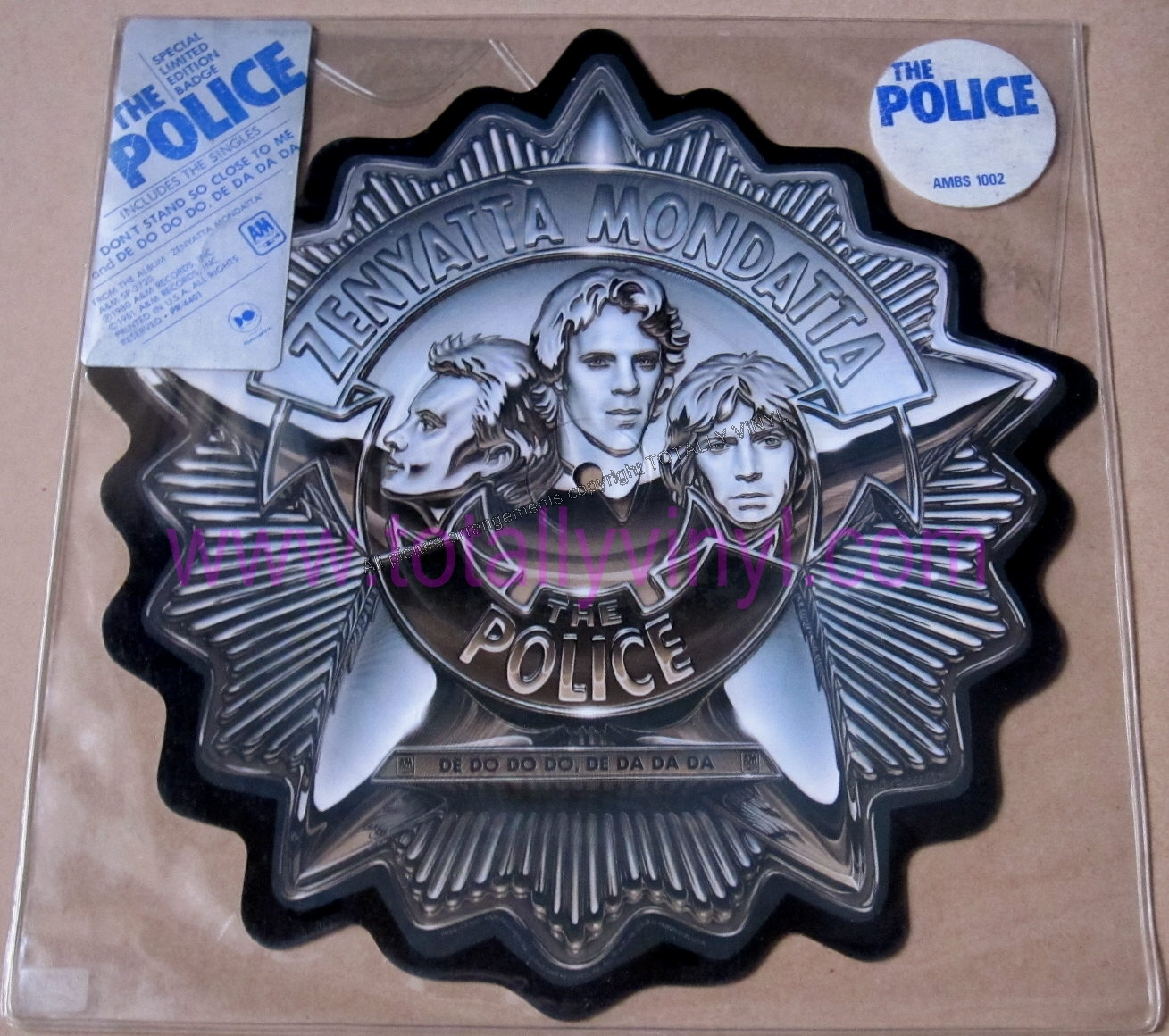 Totally Vinyl Records Police The Don T Stand So