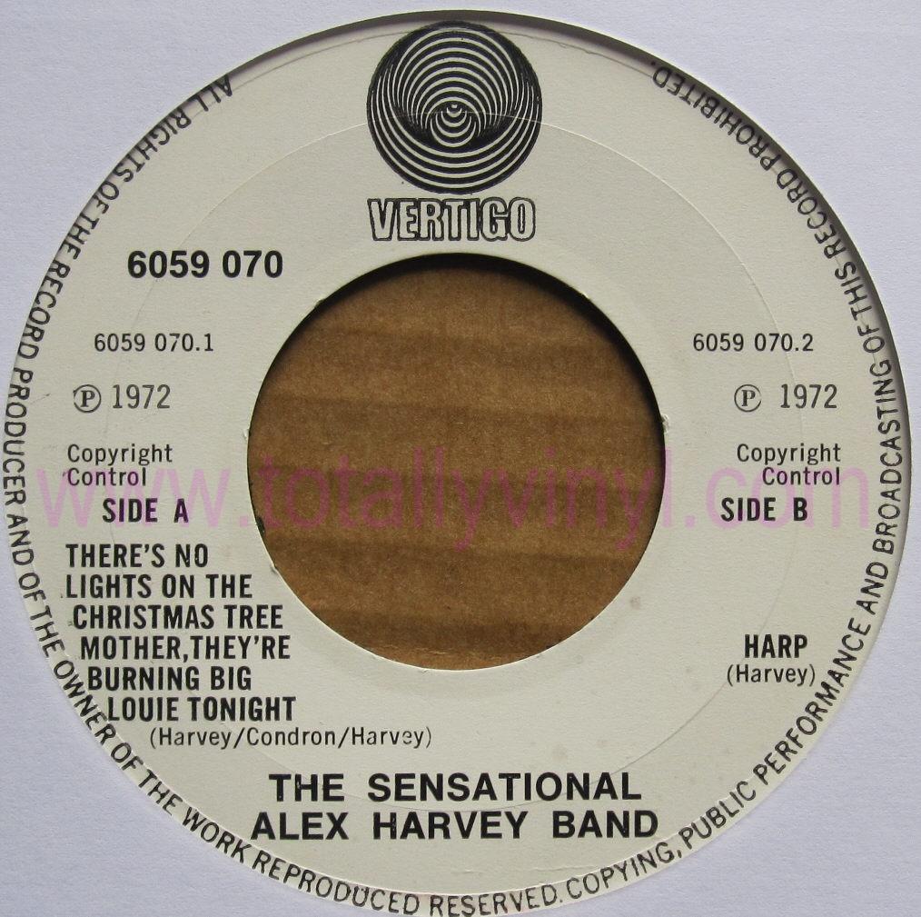 Totally Vinyl Records Harvey Band The Sensational Alex
