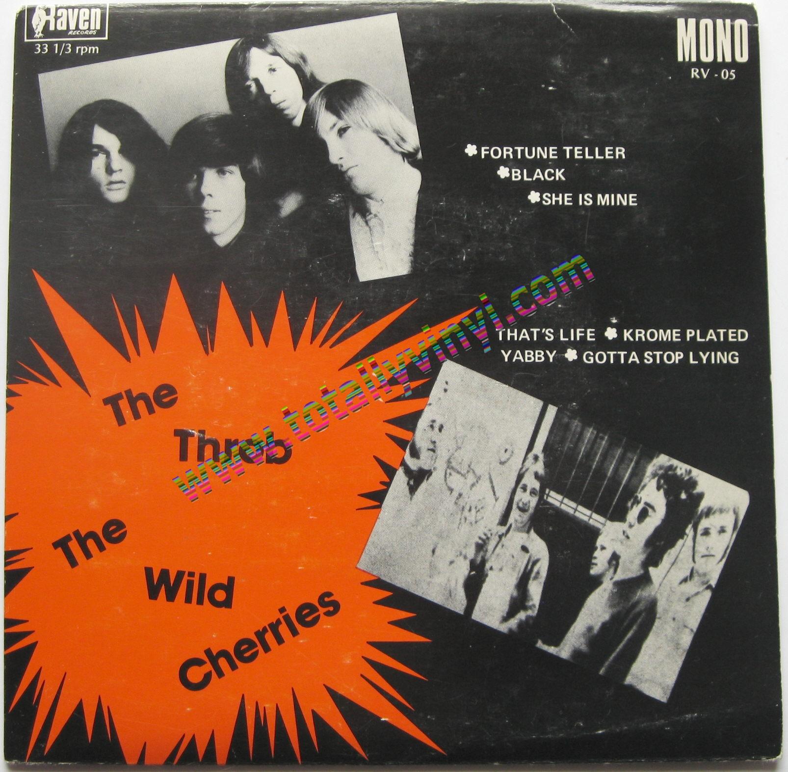 Totally Vinyl Records Throb Amp The Wild Cherries The