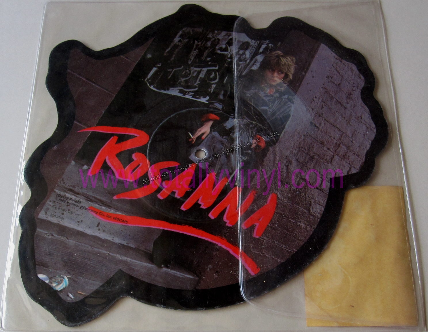 Totally Vinyl Records Toto Rosanna 7 Inch Picture