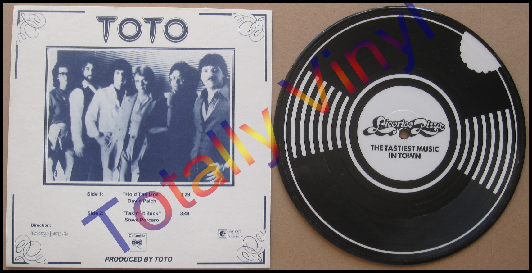 Totally Vinyl Records Toto Hold The Line Takin It