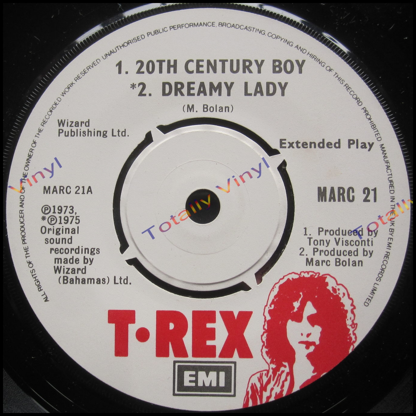 T.Rex - 20th Century Boy / Dreamy