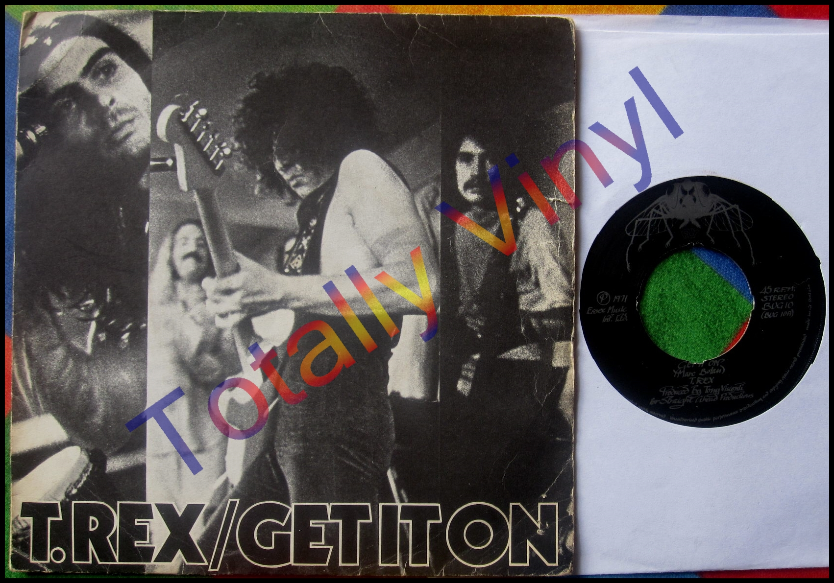 T. Rex - Get It On / Raw Ramp