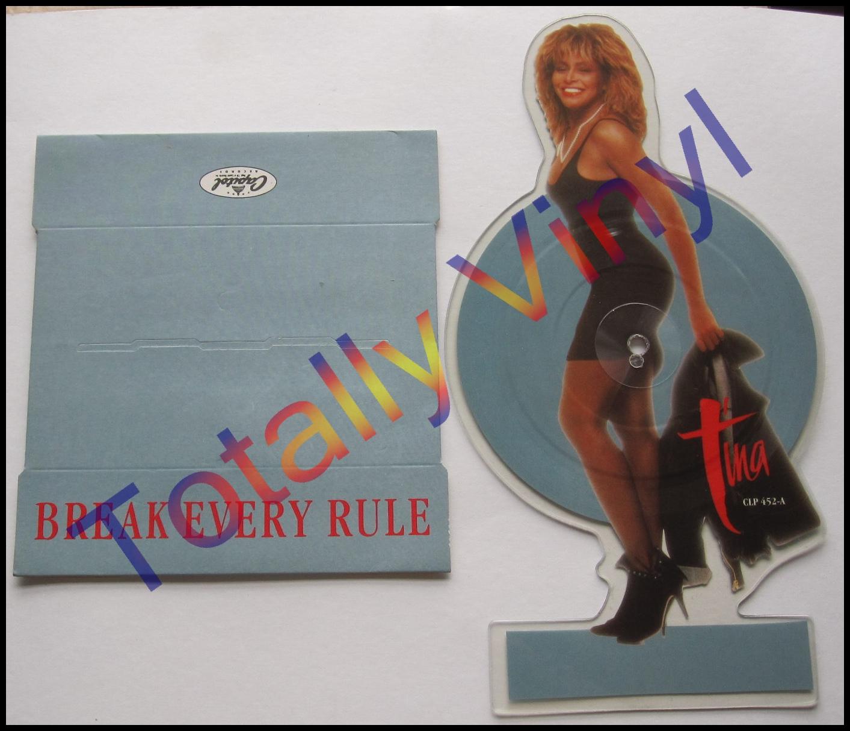Totally Vinyl Records Turner Tina Break Every Rule