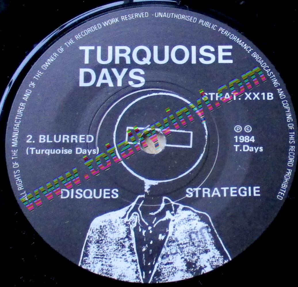 Totally Vinyl Records Turquoise Days Grey Skies