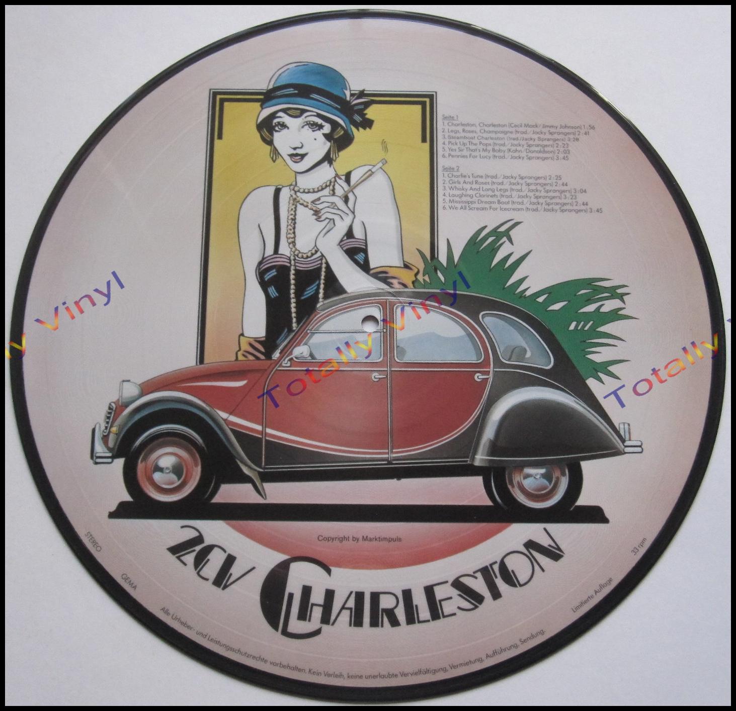 2cv charleston schallplatte