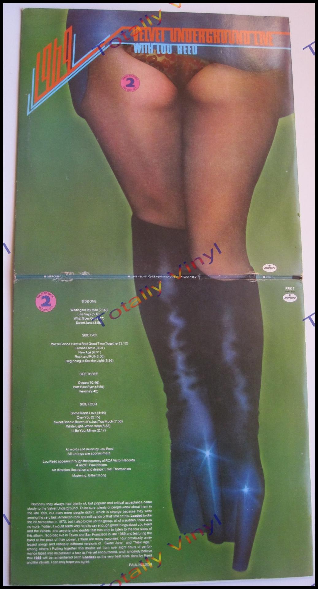 Totally Vinyl Records || Velvet Underground - 1969 Velvet