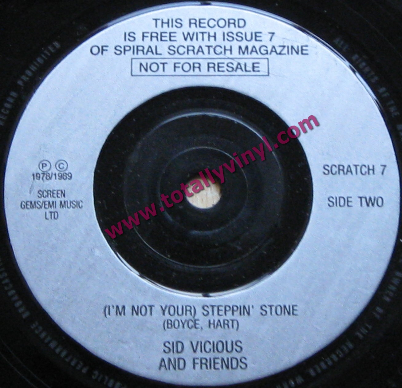 Totally Vinyl Records Vicious And Friends Sid Don T