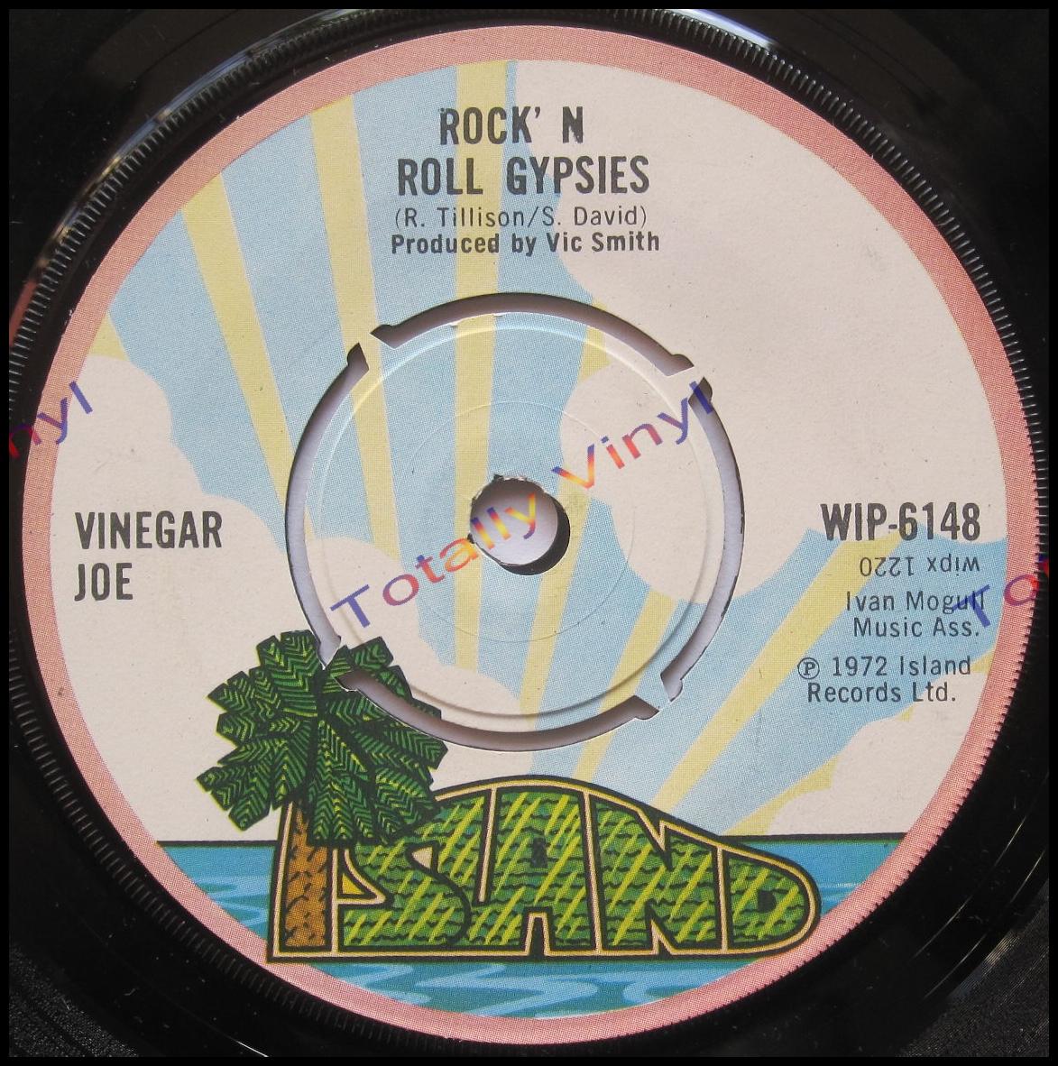 Totally Vinyl Records Vinegar Joe Rock N Roll Gypsies
