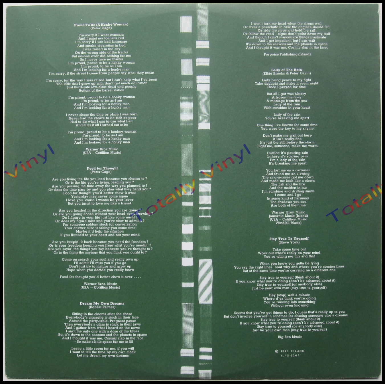 Totally Vinyl Records Vinegar Joe Six Star General Lp
