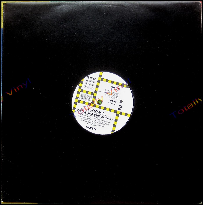 Totally Vinyl Records Vixen Cryin Extended Remix 12
