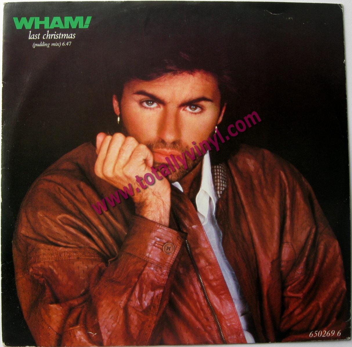 Last Christmas Album Cover.Totally Vinyl Records Wham Last Christmas Pudding Mix