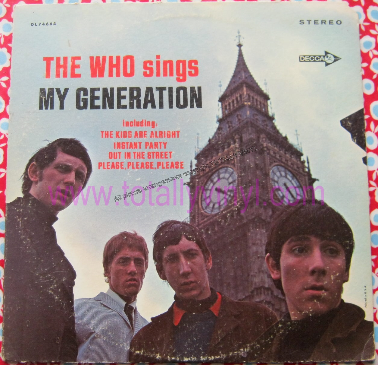 Who, The - The Who Sings My