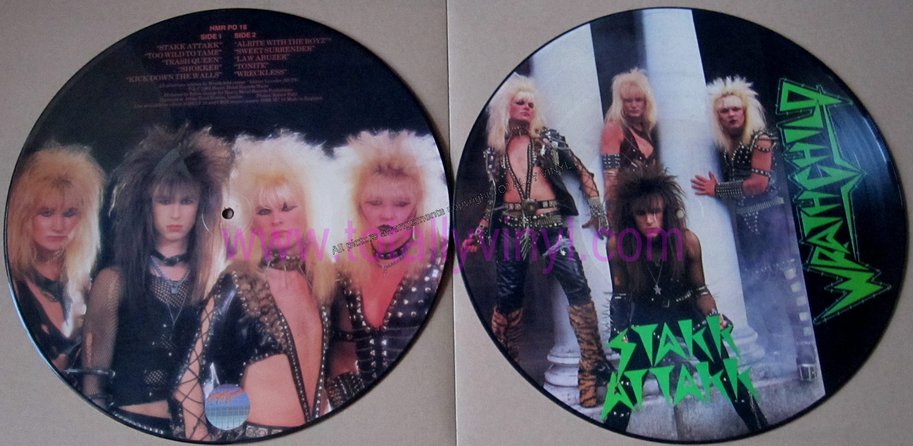 Totally Vinyl Records Wrathchild Stakk Attakk Lp