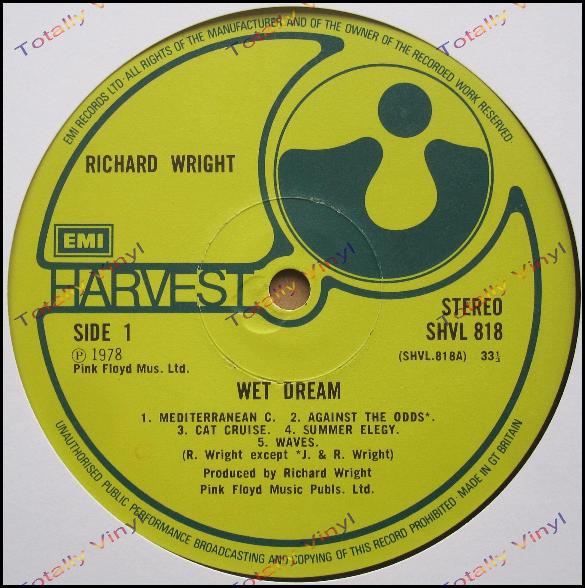 Richard Wright Wet Dream