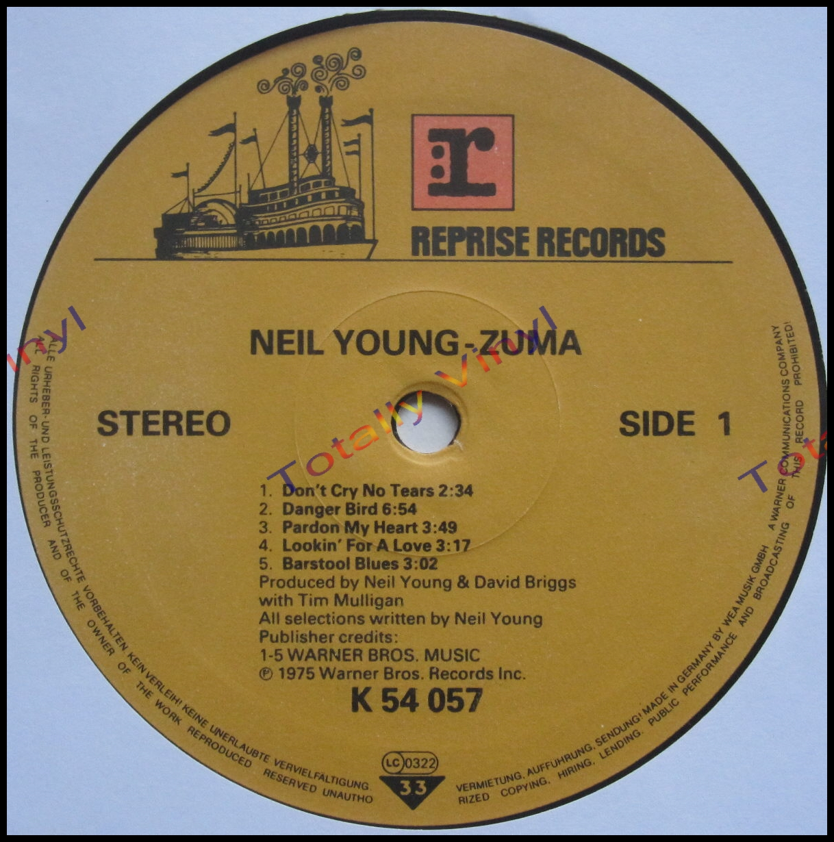 Totally Vinyl Records Young With Crazy Horse Neil